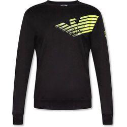 Logo-printed sweatshirt , , Taille: S - Emporio Armani EA7 - Modalova