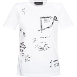 Embroidered T-shirt , , Taille: XS - Dsquared2 - Modalova
