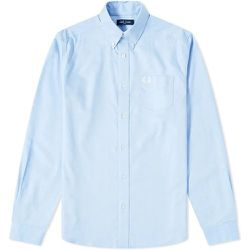 Bouton authentique vers le bas Oxford Shirt , , Taille: M - Fred Perry - Modalova