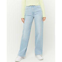 Jean Jambe Large Taille Haute Bleu - Tw - Modalova