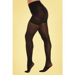 Chevron Legs Tights en Noir - magic bodyfashion - Modalova