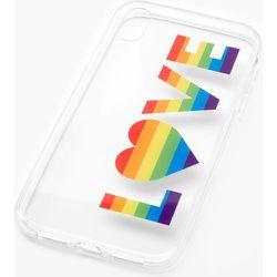 Coque de portable transparente « Love » -- - Compatible avec iPhone XR - Claire's - Modalova
