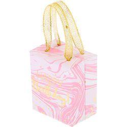 Petite boîte cadeau effet marbré Joyeux Anniversaire - Claire's - Modalova