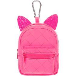 Porte-clés mini sac à dos fluo - Claire's - Modalova