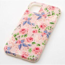 Coque de portable florale avec - Compatible avec iPhone 11 - Claire's - Modalova