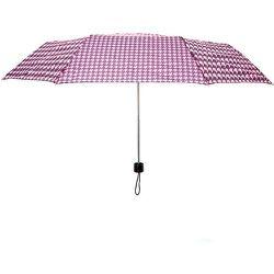 Parapluie pied-de-poule rose et - Claire's - Modalova