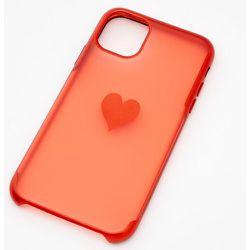 Coque de portable cœur givré - Compatible avec iPhone 11 - Claire's - Modalova