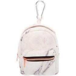 Porte-clés mini sac à dos effet marbré - Claire's - Modalova