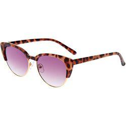 Lunettes de soleil œil de chat avec ligne des sourcils léopard - Claire's - Modalova