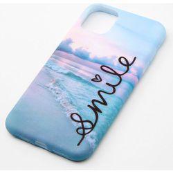Coque de portable plage « Smile » - Compatible avec iPhone 11 - Claire's - Modalova