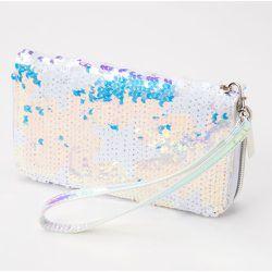 Pochette poignet étoiles sequins holographiques - Claire's - Modalova