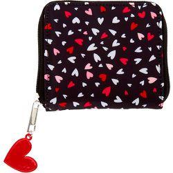 Mini porte-monnaie à zip Love Story - Claire's - Modalova
