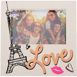 Cadre photo pailleté sur le thème de l'amour et de Paris - Claire's - Modalova