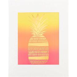 Décoration murale imprimé ananas - Claire's - Modalova