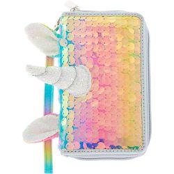 Pochette poignet licorne à sequins holographiques  - Claire's - Modalova