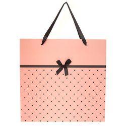 Grand sac cadeau matelassé à nœud - Claire's - Modalova