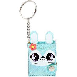 Porte-clés mini journal intime Jade la lapine - menthe - Claire's - Modalova