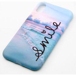 Coque de portable plage « Smile » - Compatible avec iPhone XR - Claire's - Modalova