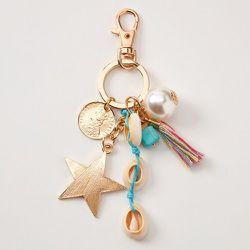 Porte-clés étoile coquillage - Claire's - Modalova