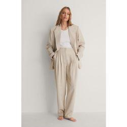 NA-KD Classic Pantalon - Beige - NA-KD Classic - Modalova