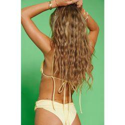 Haut De Bikini Recyclé À Fronces - Yellow - Hanna Schönberg x NA-KD - Modalova