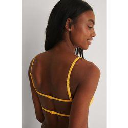 Recyclé Haut De Bikini - Yellow - Marije Zuurveld x NA-KD - Modalova