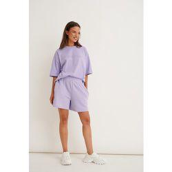 Biologique Short En Jersey - Purple - Marije Zuurveld x NA-KD - Modalova