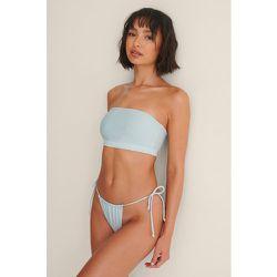 Culotte De Bikini Recyclée Nouée - Blue - Melissa Bentsen x NA-KD - Modalova