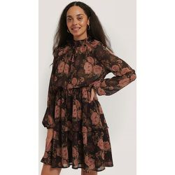 High Frill Neck Dress - Multicolor - NA-KD Boho - Modalova