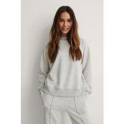 Biologique Sweatshirt - Grey - NA-KD Reborn - Modalova
