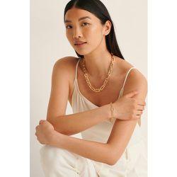 Bracelet Recyclé À Chaîne Ovale - Gold - NA-KD Accessories - Modalova
