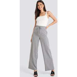Plaid Relaxed Suit Pants - Grey - NA-KD Classic - Modalova