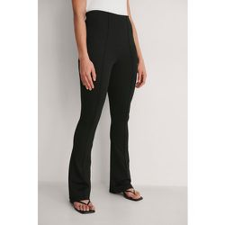 Pantalon En Jersey Avec Couture - Black - NA-KD Classic - Modalova