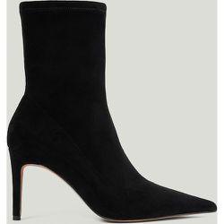 Bottes Pointues Talon Haut - Black - NA-KD Shoes - Modalova