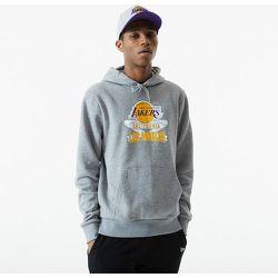 Sweat à capuche Graphic LA Lakers gris - newera - Modalova