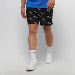 Repeat Print Swim Shorts - SikSilk - Modalova