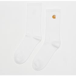 Chase Socks white/gold - Carhartt WIP - Modalova