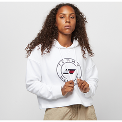 Relaxed Round Graphic Hoodie LS - Tommy Hilfiger Sport - Modalova