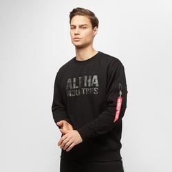 Camo Print Sweat - alpha industries - Modalova