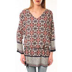 T-shirt Robe Noémie Co E1403-37 Noir/Rouge - De Fil En Aiguille - Modalova