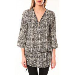 Robe Robe Noémie Co E1485-13 Noir/Blanc - De Fil En Aiguille - Modalova