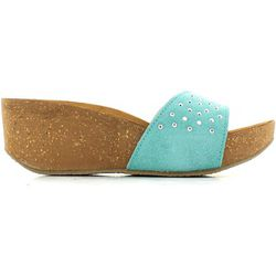 Mules  5fwh Sandales Femmes Turquoise