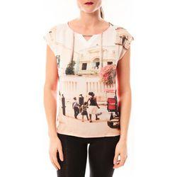 T-shirt Tee-shirt Trisi E15FTSS0333 rose corail - Little Marcel - Modalova