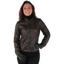 Veste Blouson Callas New en cuir ref_37458 Marron - Oakwood - Modalova