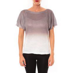 T-shirt Top Carla marron - De Fil En Aiguille - Modalova