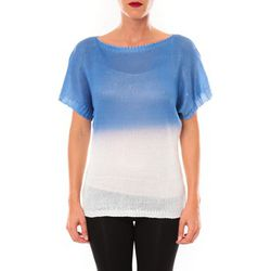 T-shirt Top Carla bleu - De Fil En Aiguille - Modalova