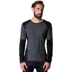 T-shirt T-Shirt manches longues Bolton Charcoal - Japan Rags - Modalova