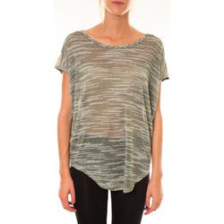T-shirt Top à sequins R5523 vert - Dress Code - Modalova