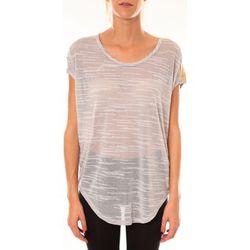 T-shirt Top à sequins R5523 gris - Dress Code - Modalova