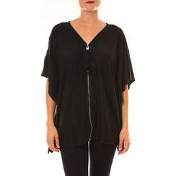 T-shirt Cardigan MC1209 noir - De Fil En Aiguille - Modalova